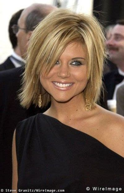 tiffani thiessen hairstyle pictures tiffani amber thiessen cute shaggy bob hair tips juxtapost