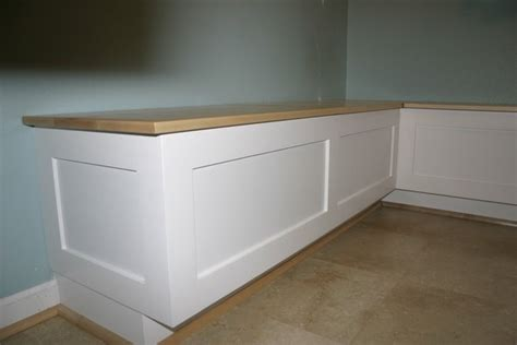 Built In Banquette Bench by Kitchen Breakfast Or Dining Room Banquette Bench Booth Or