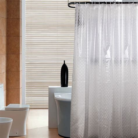 bathroom duty save 40 volador 3d effect shower curtain heavy duty 100 eva bathroom curtain with