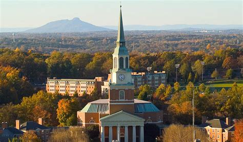 Forest Mba Program Winston Sale by 30 Most Beautiful College Cuses In The South Best