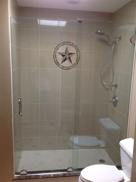 Sliding Frameless Shower Door Arc Glass Spring Texas Shower Doors Tx