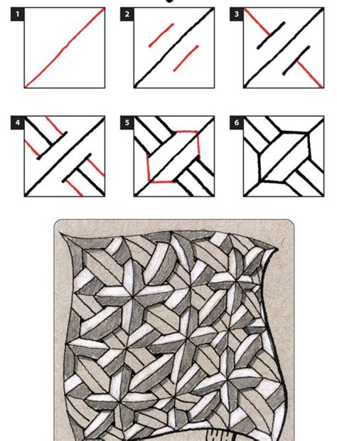 Zentangle Pattern Crusade | 17 best images about zentangle patterns on pinterest