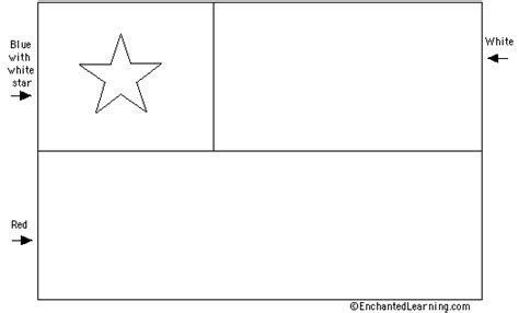 chile flag colors chile s flag quiz printout enchantedlearning