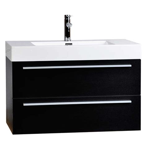 Bathroom Vanities Wall Mount Wall Mount Contemporary Bathroom Vanity Black Tn T1000 Bk Conceptbaths