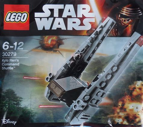 lego for kylo ren s command shuttle mini polybag 30279 1 swooshable