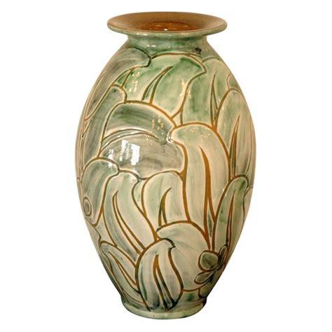 Ceramic Vases Large by Large Knabstrup Deco Ceramic Vase At 1stdibs