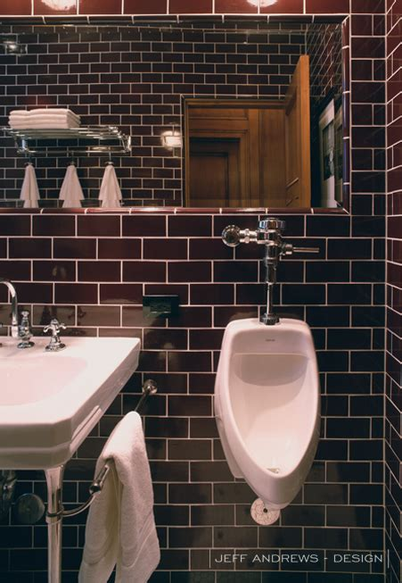 brown subway tile bathroom brown subway tiles contemporary bathroom jeff