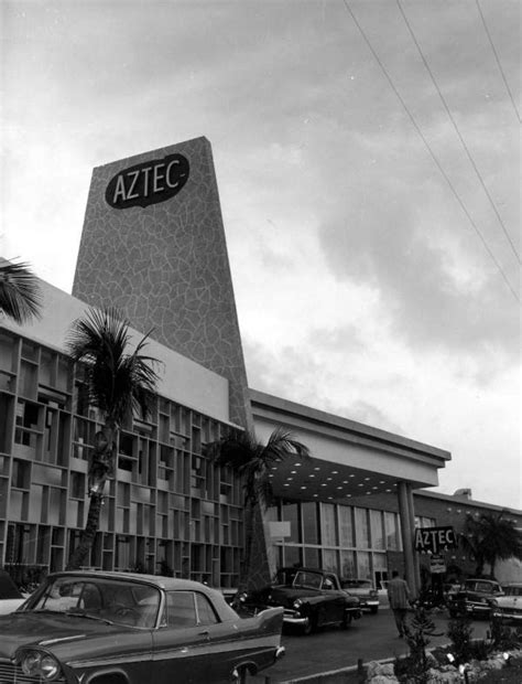 Florida Memory - Aztec Motel - Miami Beach, Florida.
