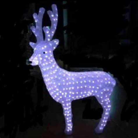 100cm reindeer buck led acrylic christmas lights