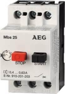 910 201 210 aeg motor starter mbs25 m