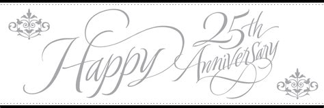 Wedding Clipart Hd by 25th Wedding Anniversary Clipart 101 Clip