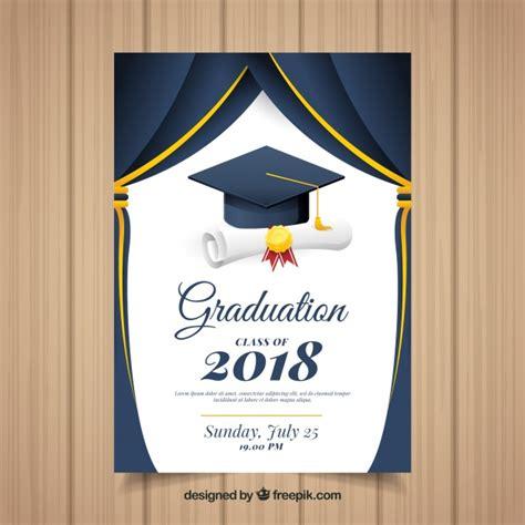 Graduation Ceremony Vectors Photos And Psd Files Free Download Grad Templates