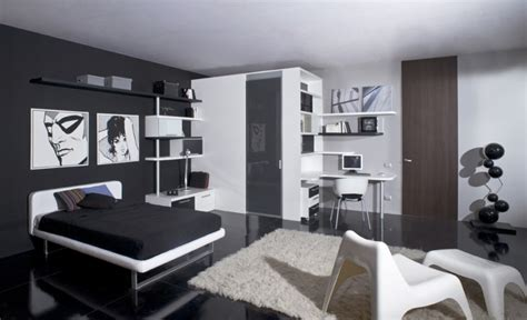 black and white teenage bedroom elegant and thrilling black and white themed teen bedroom