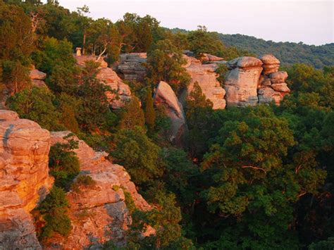 Garden Of The Gods Wilderness Cing Garden Of The Gods Wilderness Protected Area In Illinois