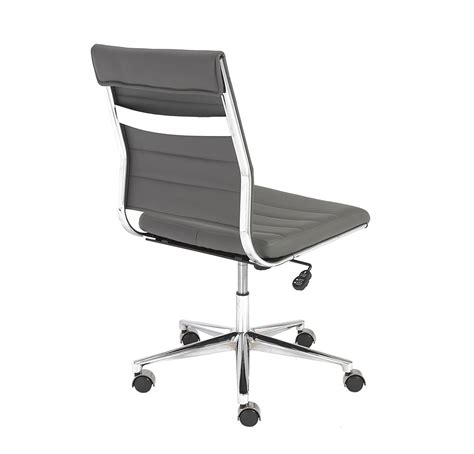 armless desk chair with low back armless office chairs bing images