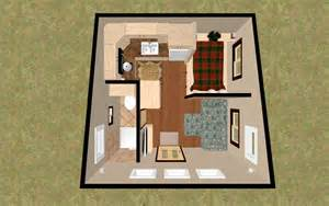 home design for 200 square foot 3d top view of the 196 sq ft 3 bed chatterbox micro