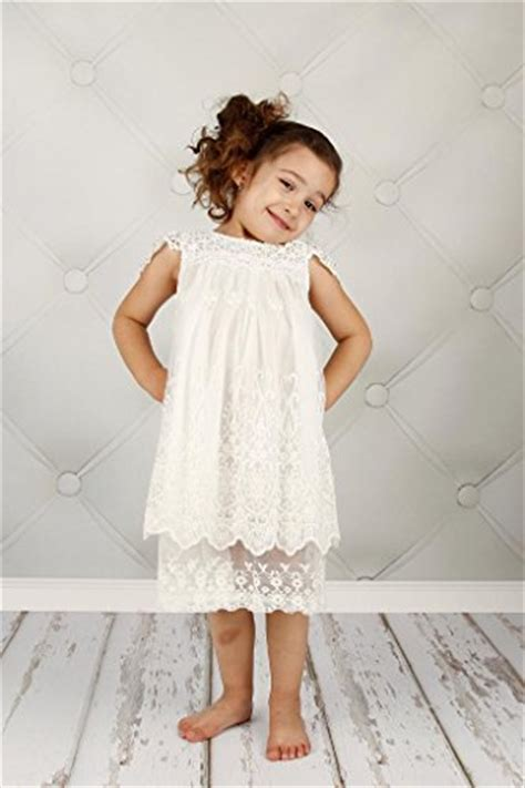 you are here home dresses white lace spliced open back maxi dress bow dream flower girl s dress vintage lace off white