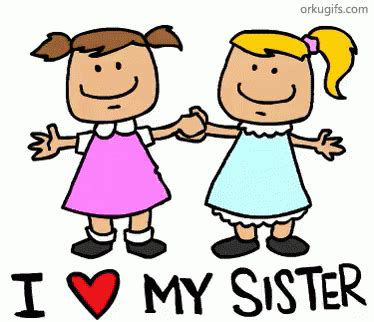 imagenes de i love you brother i heart my sister gif sisters love discover share gifs