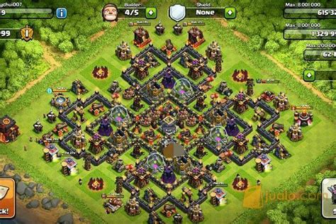 Di Akun Coc Th 10 akun coc th 10 level 145 surabaya jualo