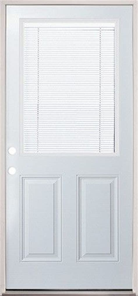 Blinds For Back Door by Steel Back Door With Mini Blinds Easy To