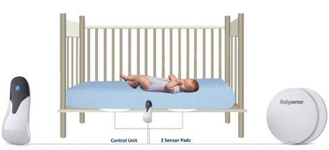 crib monitor for baby breathing babysense v infant movement monitor