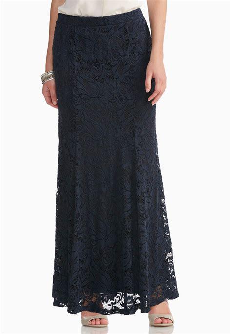 lace mermaid maxi skirt plus maxi cato fashions