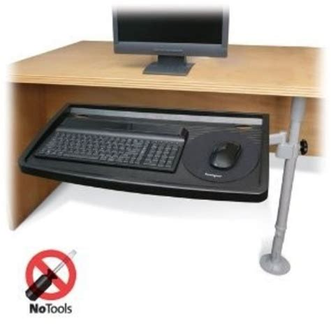 Top 5 Best Under Desk Cl On Keyboard Tray With Reviews Computer Tray For Desk