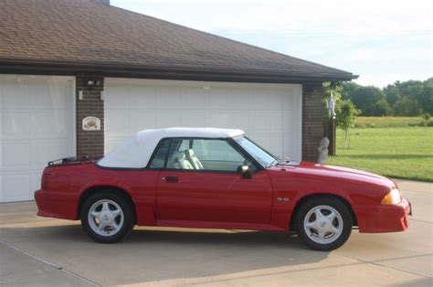 mustang gt 1993 for sale 1993 ford mustang gt convertible for sale