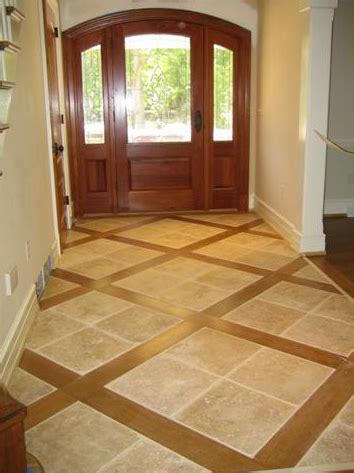 mix wood tile floor great way to mix hardwood floors tile www hickmanwoods