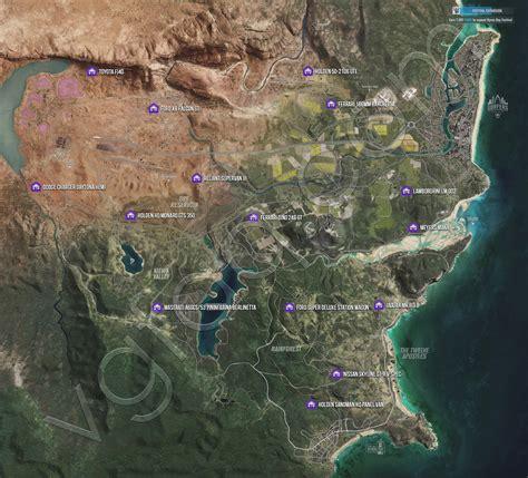 Find Location Forza Horizon 3 Barn Finds Locations Guide Vgfaq