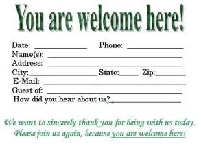 Join Me In Welcoming Template by Visitor Card Template You Can Customize