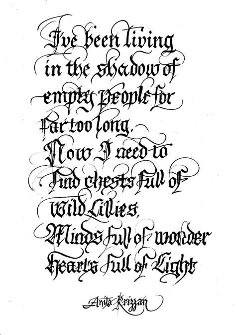 latin tattoo lettering styles latin calligraphy aaa pinterest