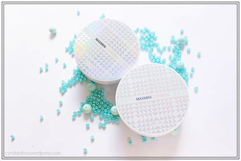 Bedak Vov bedak vov vov maxmini cushion review vov show on cheek