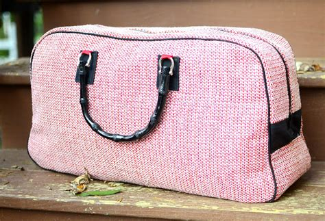 pattern sewing machine bag travel handmade ideas sewcanshe free daily sewing