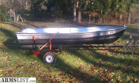 12ft aluminum boat accessories armslist for sale trade 12ft v bottom boat and trailer