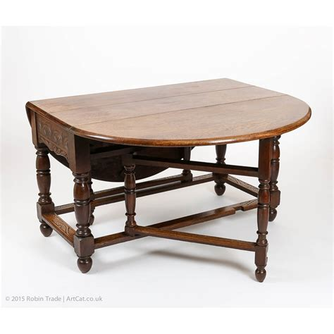 Antique Gateleg Dining Table Antique Beautiful Carved Original Late Dropleaf Gateleg Table