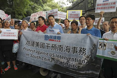 protests china s activities in south china sea