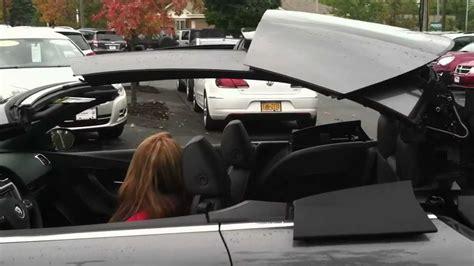 volkswagen eos actual hd video walkaround convertible roof demo youtube