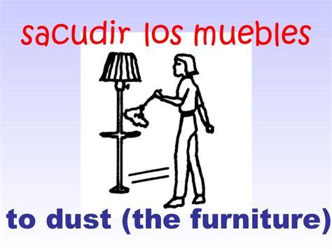 to make the bed in spanish rooms of the house in spanish