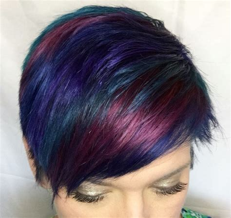 color brilliance purple blue purple and green pixie with ion color
