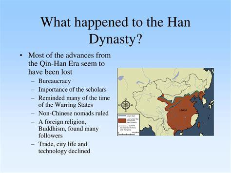 happened   han dynasty powerpoint