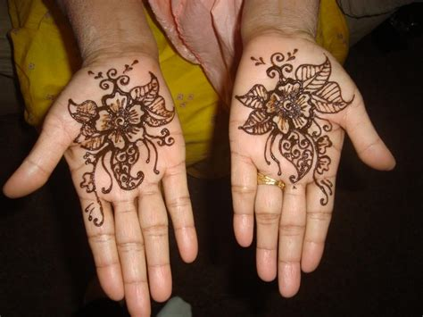 henna tattoos flowers flower henna designs design