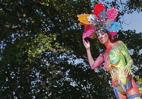 festival mundial de bodypainting en poertschach austria lo mejor painting mundial en im 225 genes la gaceta