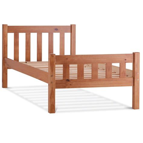 Single Wooden Futon by Single Bed Frame Beds Bed Frames Ebay