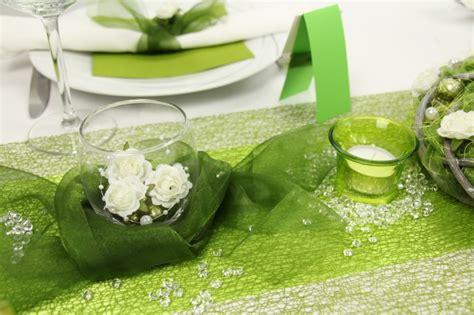 Hochzeitsdeko Gr N Creme by Tischdeko Gr 252 N Wei 223 Tischdekorationen Trendmarkt24