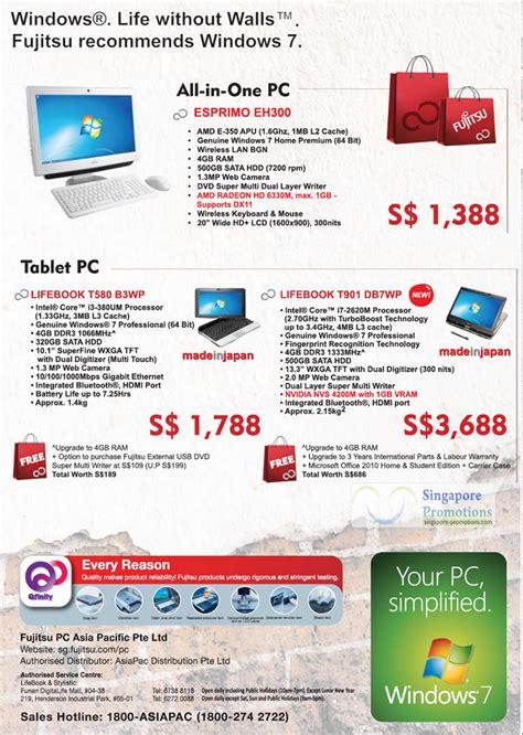 Fujitsu Esprimo Eh300 desktop pc tablets all in one esprimo eh300 lifebook