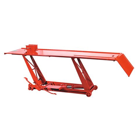 motorcycle lift bench sealey motorcycle bike motorbike hydraulic lift r bench