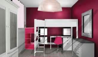 d 233 coration chambre couleur framboise