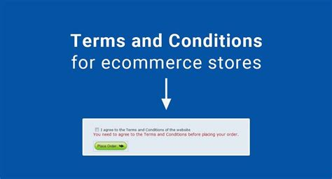 terms and conditions template for store store terms and conditions template 28 images sle