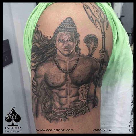 tattoo maker in ghatkopar lord shiva tattoos ace tattooz art studio mumbai india